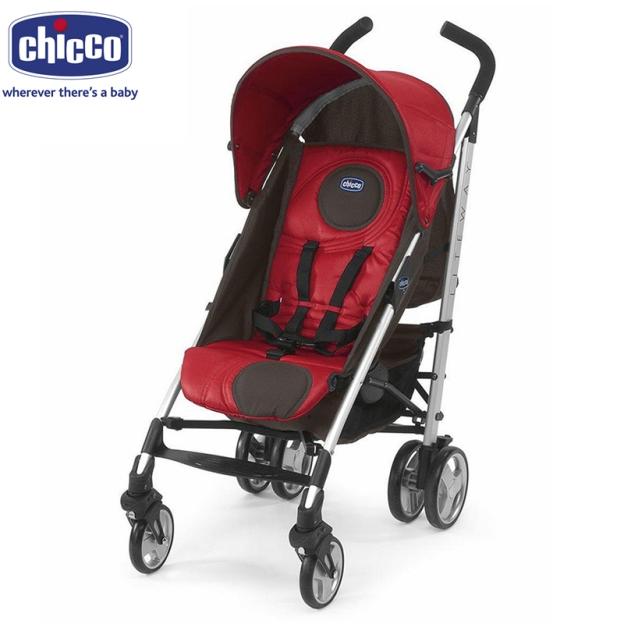Xe đẩy Chicco Liteway màu đỏ